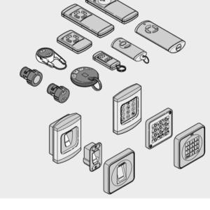Автоматика и принадлежности для гаражных ворот