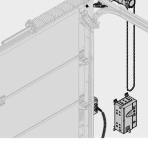 Промышленные приводы длясекционных ворот